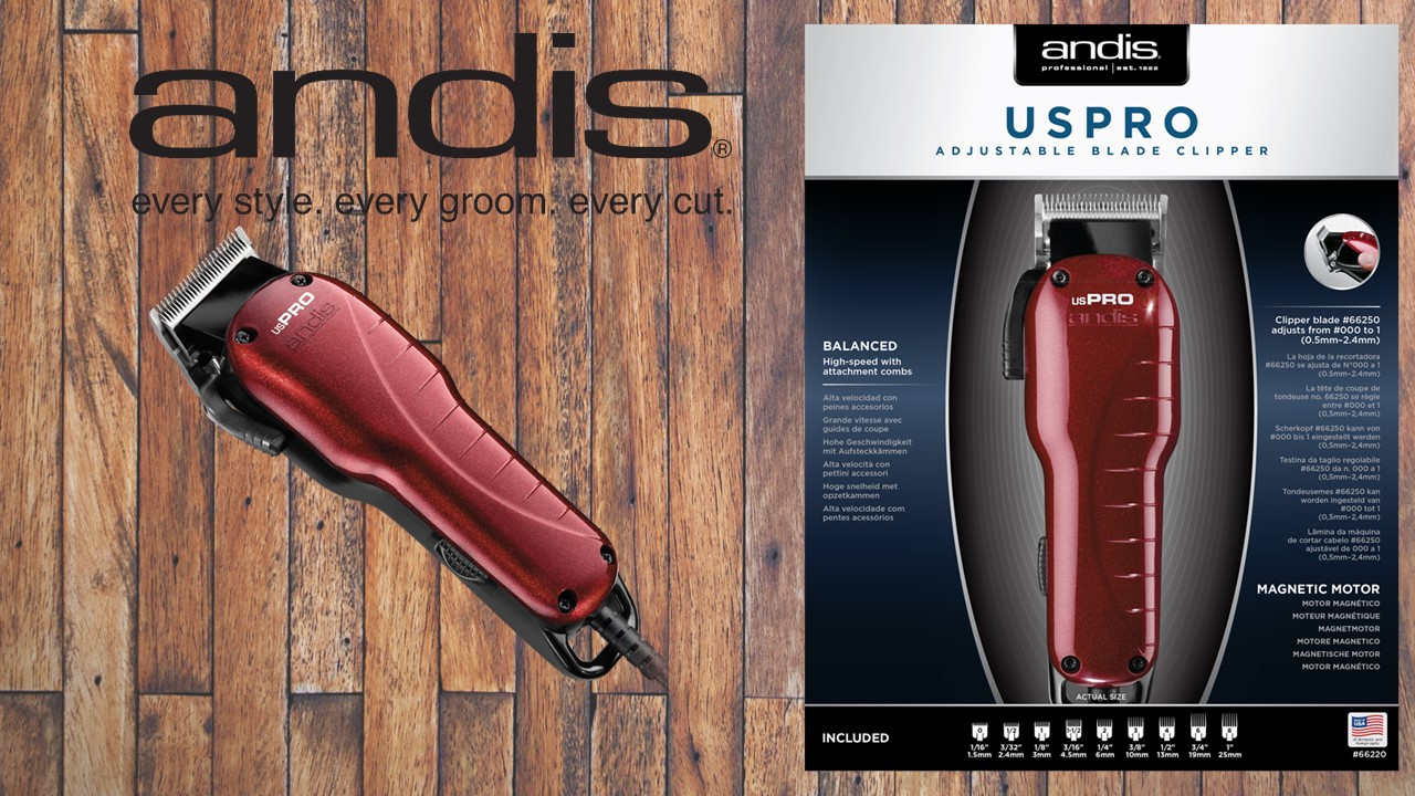 Andis usPro Adjustable Blade Clipper (EU)