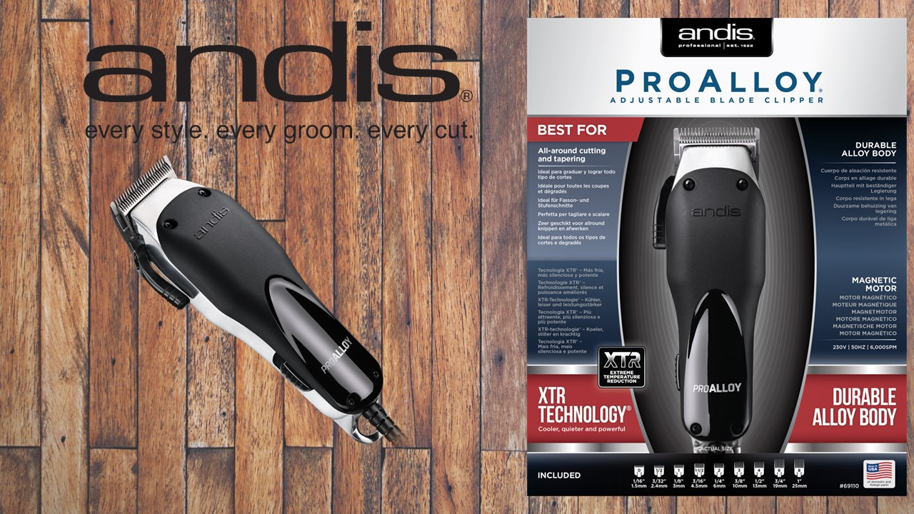 Andis ProAlloy™ Adjustable Blade Clipper (EU)